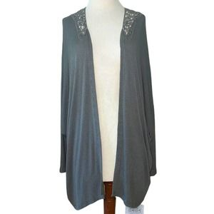 Hint Of Mint Extra Large Green Cardigan